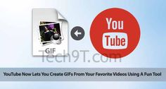 YouTube Now Lets You Create GIFs From Your Favorite Videos Using A Fun Tool