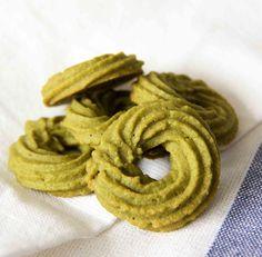 Matcha Viennese Swirls