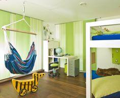 Kinderzimmer Tigerente mit Hängematte