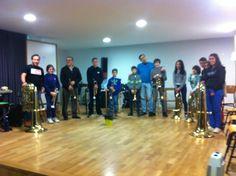 foto de grupo en Rábade (Lugo)