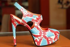 A shoe from Via Spiga's spring 2013 collection.