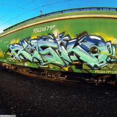 Graffiti Creator:Rasko / Moscow / Freights Graffiti. Feast your eyes with graffiti arts from Bombing Science!