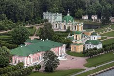 Kuskovo - Located in eastern Moscow, Kuskovo is a large estate of the Sheremetev family. The buildings of the estate were built in the 18th century, with the baroque Church of the archangel Michael being the oldest of the buildings.