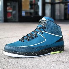 "NEW ARRIVALS: Nike Air Jordan 2 Retro ""Nightshade""  size 8.5  kickbackzny.com"