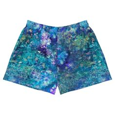 Crystalstone all over print shorts