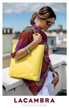 De Tacones y Bolsos: LACAMBRA, bolsos y complementos de piel fabricados en España con materiales de primera calidad.