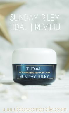 A refreshing ice-blue hydrating moisturiser. Tidal Brightening Enzyme Water Cream is perfect for dehydrated, combination and oily skin types.
