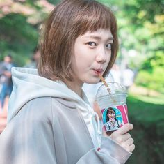 Lee Sung Kyung - Lee Sung Kyun minha linda no wfkbj Korean Actresses, Korean Actors, Actors & Actresses, Weighlifting Fairy Kim Bok Joo, Nam Joo Hyuk Lee Sung Kyung, Kdrama, Joon Hyung, Kim Book, Swag Couples