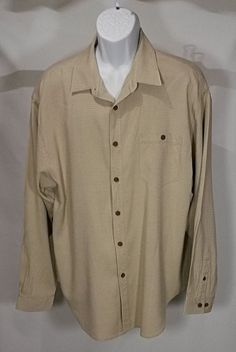 cda4bf37 Tommy Bahama 100% Silk Long Sleve Jacquard pattern Shirt sz XL #TommyBahama  #Hawiian