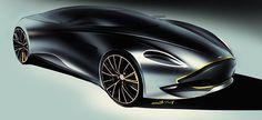 Car design sketches #3 on Behance