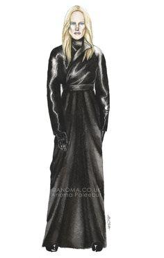 Celebrity Stylist Fashion Illustrations by Anoma Paleebut, via Behance