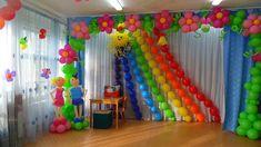"""Воздушный арсенал"" Diy Diwali Decorations, Birthday Balloon Decorations, School Decorations, Festival Decorations, Birthday Balloons, Balloon Background, Balloon Backdrop, Balloon Columns, Balloon Wall"