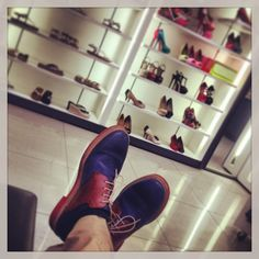 Mr. B, made in shoes heaven... @aldo shoes