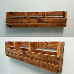Reclaimed Pallet Wood 3 Pocket Wall/Floor Organizer. Mail holder, file holder, magazine rack, vinyl record storage, office decor, kitchen decor.  Made to order 3 pocket organizer. Works great in the office to keep mail and files organized, or in the kitchen to hold cookbooks, magazines, school folders, mail and much more. Makes great storage for vinyl records. Can sit on the floor or be hung on the wall. Its practical and looks beautiful! Oil-rub finish for a natural wood look. Organize...