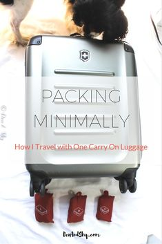 minimal packing   packing carry on   carry on luggage tips