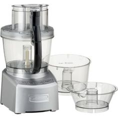 Food Processors: Food Chopper & Processor Shopping | Crate and Barrel -- I'm ready to upgrade my old Cuisinart! Okay, on my wish list!