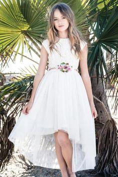 Buy Delilah Lace Bodice Dress - Sunset Lane