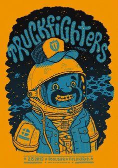 Truckfighters poster #Stoner