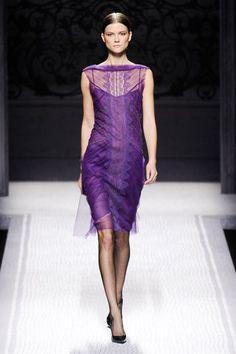 Alberta Ferretti purple 2012