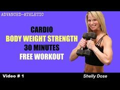 30 Minute Total Body Free Home Workout   Cardio and Bodyweight Exercises - YouTube