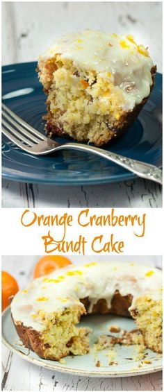 You will love this Delicious Orange Cranberry Bundt Cake Recipe, full of flavor with fresh oranges, tart cranberries