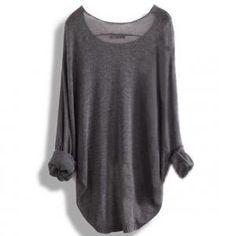 Long-sleeved Knit Shirt Blo..