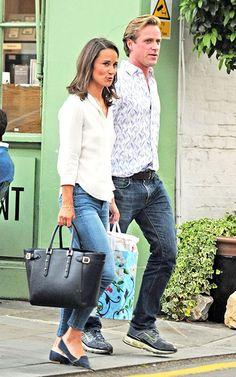 Pippa Middleton with Tom Kingston, zusje van Catherine is altijd omringd door mooie mannen. Al lijkt ze zelf geen keuze te kunnen maken.