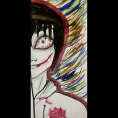 Jeff the killer painting