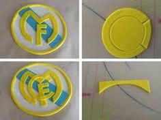 Výsledek obrázku pro escudo real madrid fondant paso a paso