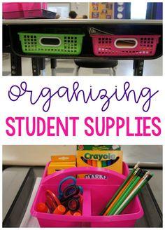 Organize student sup