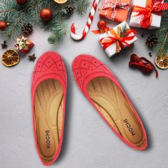 Tory Burch Flats, Cheer, Christmas, Fashion, Xmas, Moda, Humor, Fashion Styles, Weihnachten