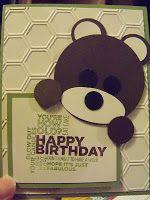 cute bear for kid cards