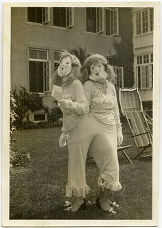 siamese twins, essex sanatorium, horrible parade, july 4, 1936.  from the collection of angelica paez.