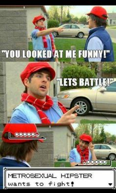 Smosh-Pokemon in Real Life series, omg those are so funny xD I have Smosh marathons sometimes, lol.