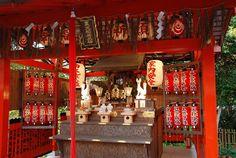 Kyoto - Kurimitsu-inari-myojin, Jishu-jinja Shrine