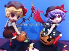 TouHou Project Pumpkin Hallowmas Action Figures Cute Flandre & Remilia Scarlet Dolls PVC ACGN figure Toy 12CM, View Touhou Project, donnatoyfirm Product Details from Guangzhou Donna Fashion Accessory Co., Ltd. on Alibaba.com
