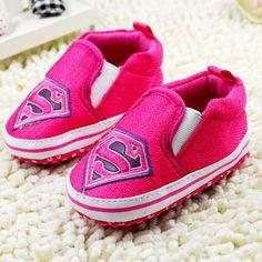 Baby Shoes Cartoon Totem Superman Batman Infants Shoes Babies Sneakers