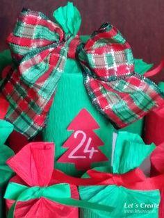 Adventní kalendář z ruliček od toaletního papíru – Let´s Create Diy Advent Calendar, Christmas Decorations, Christmas Decor, Ornaments, Christmas Baubles, Christmas Tables, Christmas Jewelry