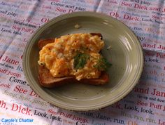 Carole's Chatter: Soft Scrambled Eggs Scrambled Eggs, Kitchen Gadgets, Cooking Tips, Quotations, Breakfast, Simple, Recipes, Food, Morning Coffee