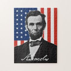If you or anyone in your family likes Abraham Lincoln then you or your relative will like this unique Abraham Lincoln puzzle. American Civil War, American History, Wedding Color Schemes, Wedding Colors, Civil War Art, Gettysburg, Beautiful Gift Boxes, Abraham Lincoln, Art Projects