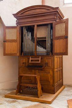 Strasbourg Sainte-Madeleine orgue positif André Silbermann 1719