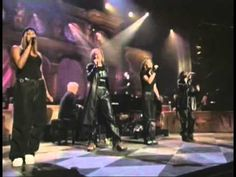 """Burt Bacharach with All Saints-Always Something There to Remind Me. """"I was born to love you and I will never be free."""""""