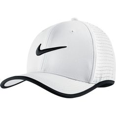 Nike Aerobill Classic 99 Hat ($24) ❤ liked on Polyvore featuring accessories, hats, nike, adjustable hats, dri fit hats, summer hats and strap back hats