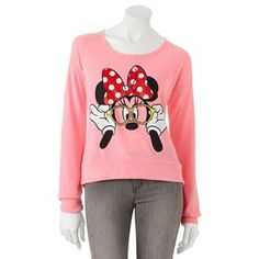 Minnie Mouse top at Kohl's. #Minnie Style