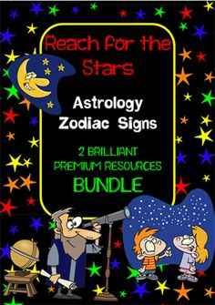 Zodiac Signs | Vocabulary | Writing Prompt | BUNDLE