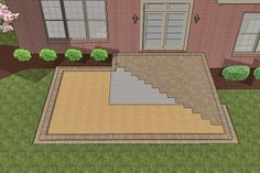 How to Install Larger Paver Patio Over Existing Smaller Concrete
