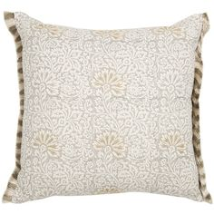 GP & J Baker Flora Cushion - Warm Grey - 50x50cm (175 CAD) ❤ liked on Polyvore featuring home, home decor, throw pillows, neutral, gp & j baker, floral throw pillows, floral accent pillows, floral toss pillows ve floral home decor