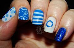Smashley Sparkles: Diabetes Awareness #nail #nails #nailart