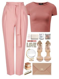 """""""To love or not to love"""" by sharinganjea ❤ liked on Polyvore featuring Interlude, Topshop, Bobbi Brown Cosmetics, Barneys New York, Chanel, H&M, Christian Dior, Jimmy Choo, Creative Co-op and SecondoMe"""
