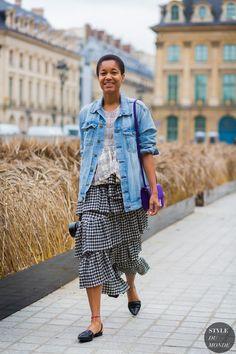 Tamu McPherson Street Style Street Fashion Streetsnaps by STYLEDUMONDE Street Style Fashion Photography